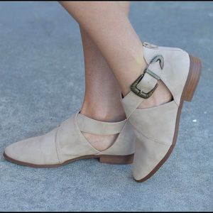 Shoes - Adorable Flat with Side Buckle